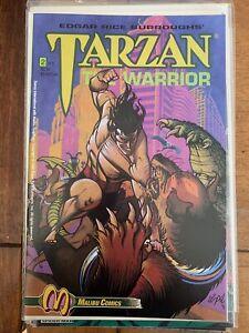 Comics- Malibu Comics-Tarzan the Warrior #2 NM 1992