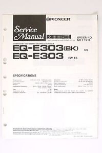 pioneer eq 6500 wiring diagram manual