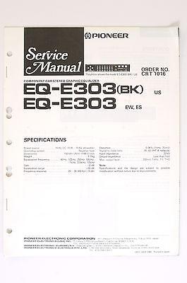 pioneer eq e303(bk) eq e303 original service manual guide wiring Residential Electrical Wiring Diagrams pioneer eq e303(bk) eq e303 original service manual guide wiring diagram! o66 ebay