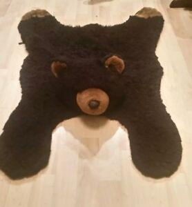 Fancy Zoo Kids Black Bear 9591 Faux Fur