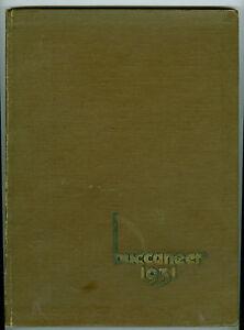 1931 Modesto Junior College, Modesto, California Yearbook