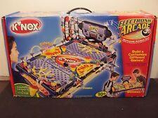 K'Nex Electronic Arcade Pinball Speedball Multi Game Building toy 2001 not used