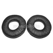 Leather Ear Cushion 70 mm Pads for Sony MDR-V150 V300 ZX100 ZX300 ZX310 Black