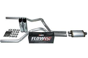 "04-14 Ford F-150 2.5/"" Dual Exhaust No Muffler Black Tips"