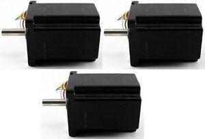 3-PCS-NEMA34-Single-SHAFT-STEPPER-MOTOR-906-oz-in