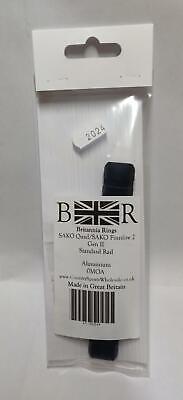 Britannia rails HOWA 1500 SA 10 MOA Picatinny base Rail 2-0014 Made in the UK