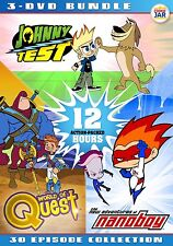 Johnny Test / World of Quest / The New Adventures of Nanoboy (3-Disc Set)