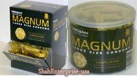 Trojan Condom Magnum Large 48/jar 50/box Enz Blue Pleasure Pack Private Listing