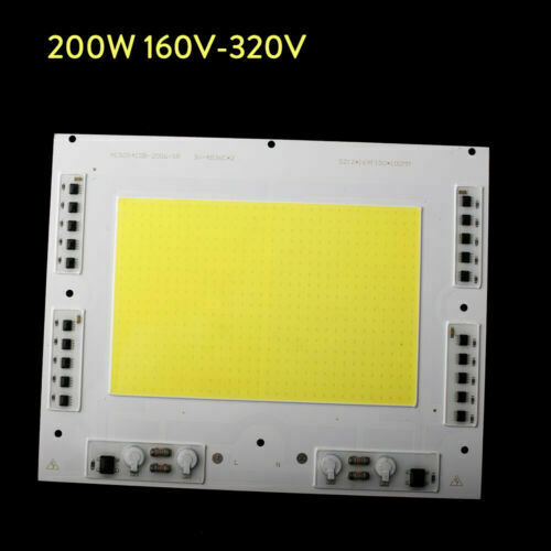 200W High Power Driverless DIY For Floodlight Smart IC LED COB Beads Chips 30W