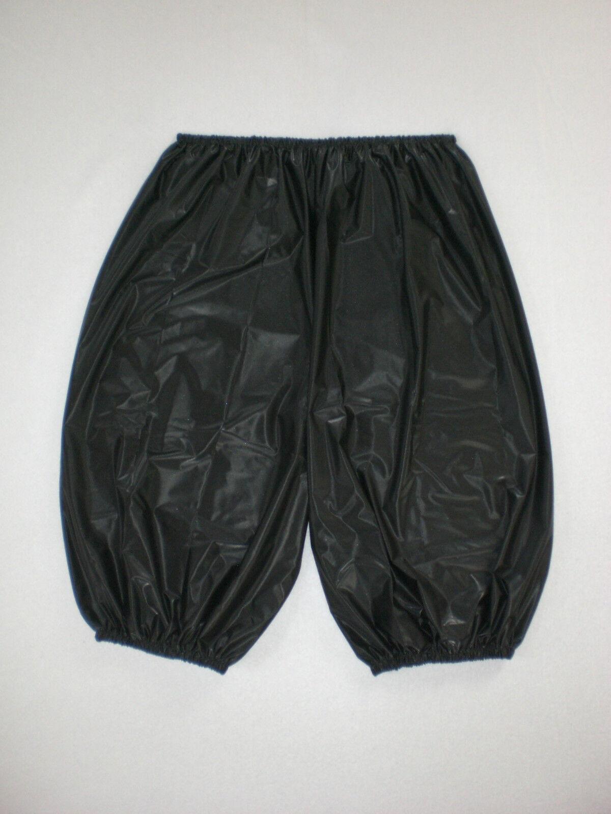 ULTRA SOFT PVC SAUNA RADLER SHORTS SWEAT PANTS  L XL XXL XXXL