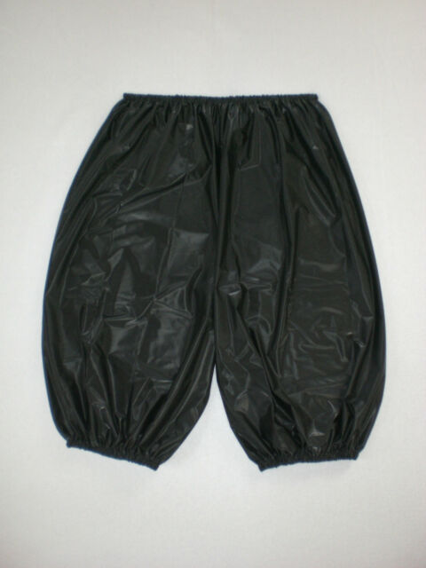 ULTRA SOFT PVC SAUNA RADLER SHORTS SWEAT PANTS  L XL XXL XXXL