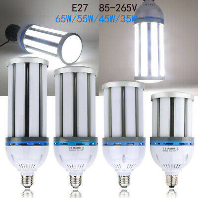 35W 65W 120W LED Corn Light Lamp E27 E40 COB Bulbs Equivalent 350W-1200W Lamp UK