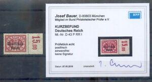 DR-servizio 43or RRI buon margine superiore ** Post freschi BPP esito 160eur (a2628