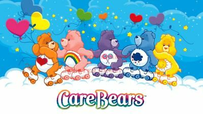 24 inch X 36 inch 01 80/'s Vintage Eighties Art Poster CARE BEARS Poster