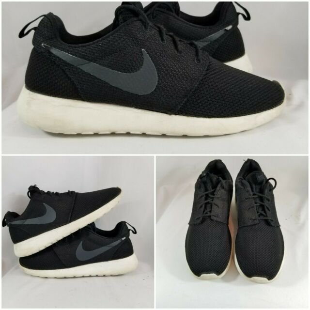 Nike Roshe One Run Black/White Athletic Running Shoes Sneakers Size 9