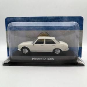 IXO-ALTAYA-1-43-Peugeot-504-1969-Diecast-Modelos-Juguetes-Coche-En-Miniatura-De-Coleccion