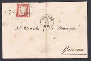 Regno-di-Sardegna-RARO-40-c-rosa-scuro-su-frontespizio-1860-da-Milano-con-cert