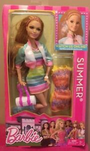 Barbie Summer Life in il Dreamhouse 2012 Mattel Y7438 Bambola