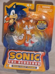 Toysrus Exclusive Jazwares Sonic Hedgehog Poseable Action Figure Tails Sega Vhtf Ebay
