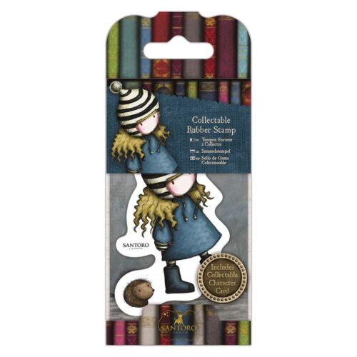 Gorjuss Collectable Rubber Stamp 35 The Friendly Hedgehog Santoro No