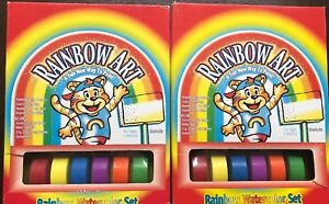 2 Rainbow Art Watercolor set.