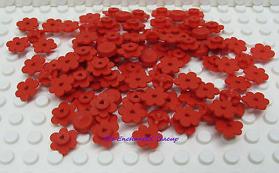 Lego City 3 Flowers in Red
