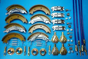 Williams de de Ifor essieu mâchoires de type Jeu double frein Knott de et 200x50 Hb506 remorque câbles à waXTT0Px