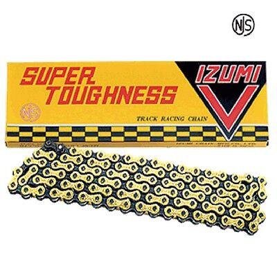 Gold IZUMI V Super Toughness 1//2×1//8x106L Track Racing Chain