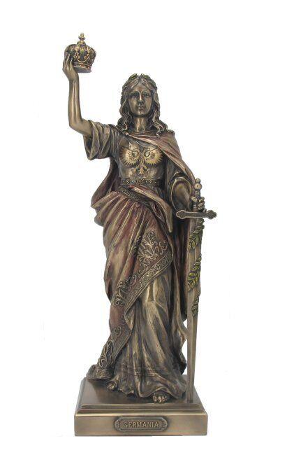 Germania Germania Germania magna Germanien Deutschland Skulptur Statue Figur bronziert 708-9459 fff355