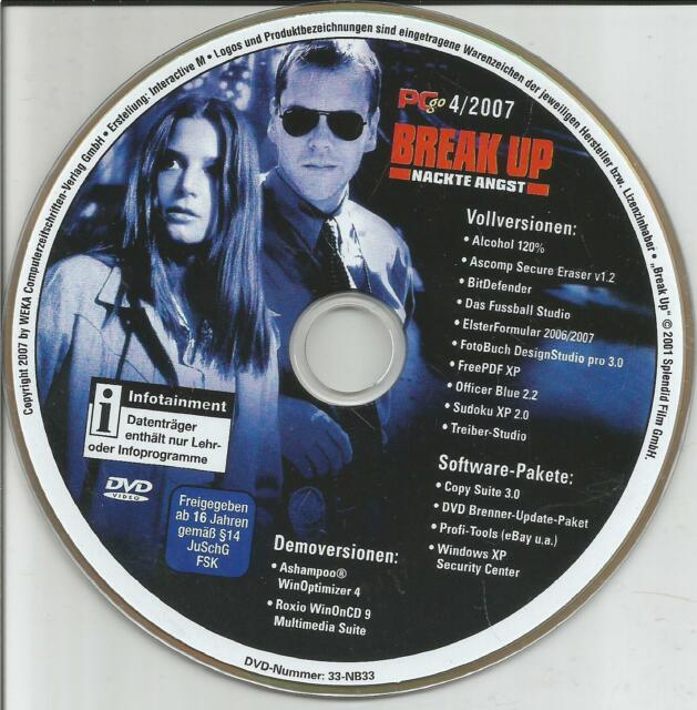 Break up - Nackte Angst / PcGo-Edition 04/07 / DVD-ohne Cover