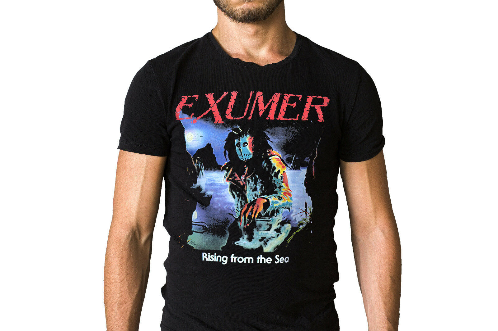 Exumer Rising From The Sea 1987 Album T-Shirt