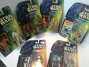 Lot-of-6-Star-Wars-POTF-Princess-Leia-Han-Solo-Kenobl-Ev-9D9-Dark-lighter