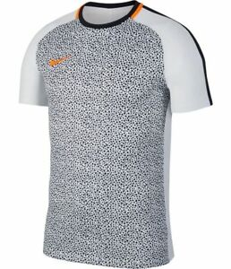 alarma Final Claire  Nike Academy 2019 Dri-Fit Soccer Training Fitness Top New Gray / White |  eBay
