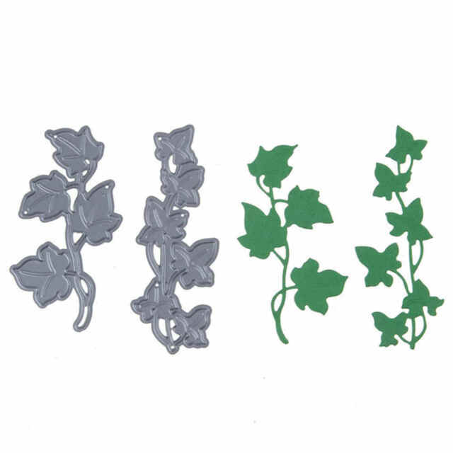 2pcs Flower Tree Design Metal Cutting Die For DIY Scrapbooking Album PaperE9C
