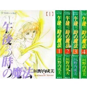 Manga 3PM Magic VOL.1-4 Comics Complete Set Japan Comic F/S