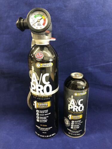 A//C Pro Professional Formula Refrigerant ACP-100 Leak Sealer w// Refill Can