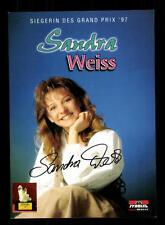 Sandra Weiss Autogrammkarte Original Signiert ## BC 88674
