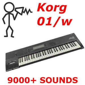 9000-Korg-01w-01rw-Sound-Program-Patch-Library-Fast-Delivery