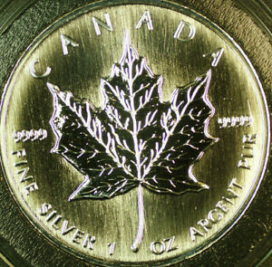 1997-Canada-1oz-Silver-Maple-Leaf-Proof-Like-5-Dollars-Coin