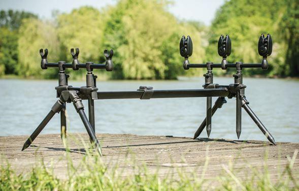 Leeda Rogue 3 in 1 Rod Pod Green Fishing Pod + Carry Case - X7000