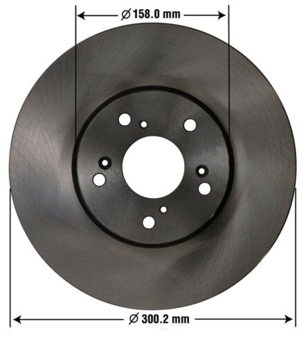 6 Speed Trans Front OMNIPARTS 13100077 Disc Brake Rotor-EX Std Trans
