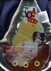 Pirate Ship Cake Pan From Wilton 2105 1021 With Paper