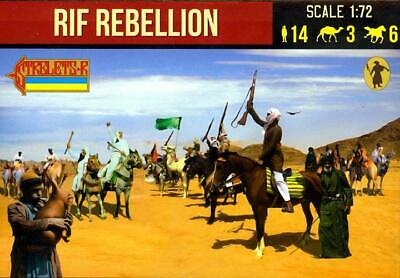 Strelets Models 1//72 ARAB RIF REBELLION Mounted Figure Set