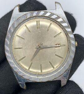 Amide-Cal-Adamatic-Automatique-Vintage-34-mm-Pas-Fonctionne-pour-Pieces-Verre