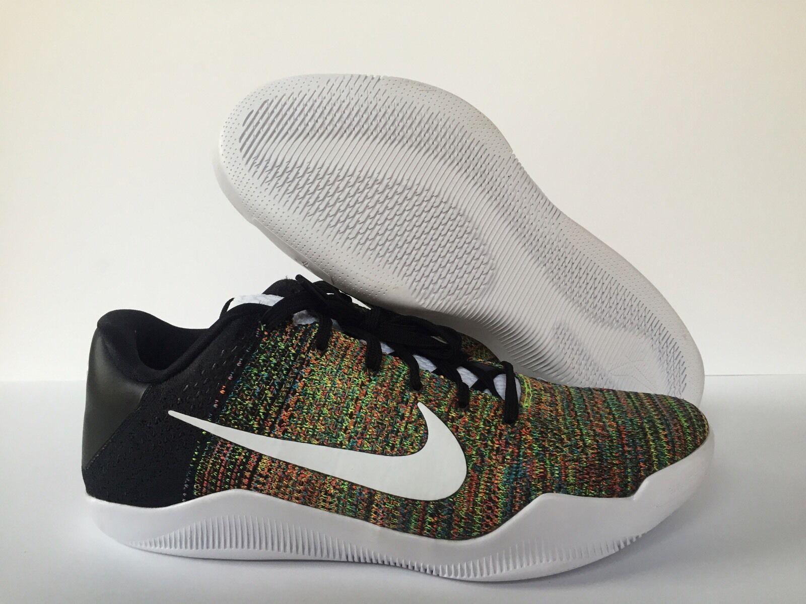 Nike Kobe XI XI XI Elite bajo Flyknit iD Multicolor 2018 Hombre [903712-993] cc1607