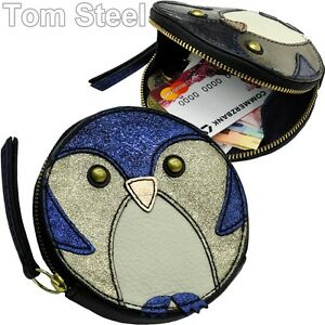 ad53e3b247963 Image is loading Fossil-Ladies-Purse-Wallet-Penguin-Blue-Purse-Money-