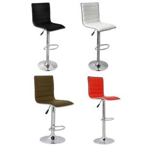Details zu 2 DESIGN Barhocker Bar Stuhl Drehstuhl LOUNGE Hocker Küche  Barstühle NEU 6
