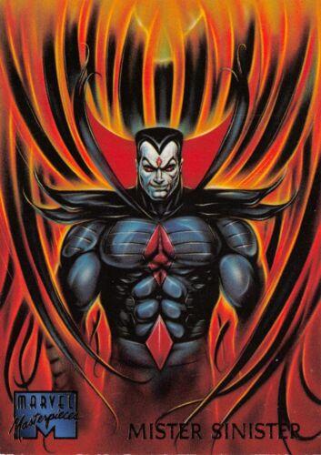 Base Trading Card #68 Fleer MISTER SINISTER 1995 Marvel Masterpieces