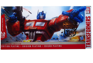 Hasbro transformers year of the rooster limited optimus prime to THS-02 toys