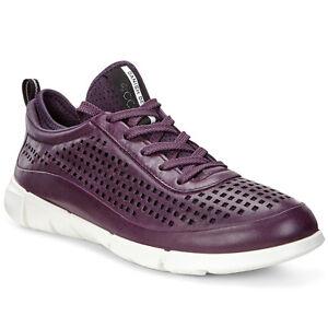 Femmes Dames 1 Cuir Baskets Chaussures Mauve 01276 En Intrinsic 860013 Ecco PIEwqAP